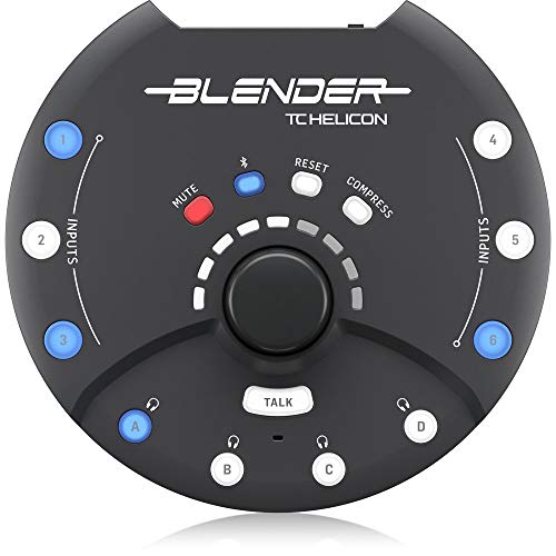 TC HELICON Blender - Portable Mixer with USB New Jersey