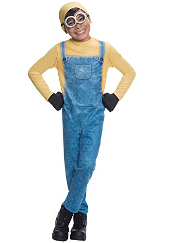 Generique - Bob-Minions Kinderkostüm Lienz-Verkleidung gelb-blau 116 (5-6 Jahre)