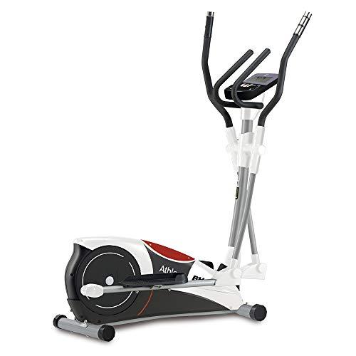 BH Fitness Athlon Program Bicicleta elíptica, Adultos Unisex, Blanco/Gris/Granate, Talla Única