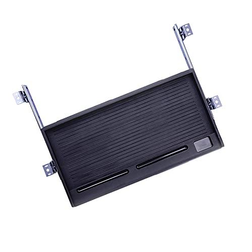 JTGPFC Piattaforma della Tastiera Ergonomico Vassoio Estraibile Scorrevole sotto Il Cassetto della Scrivania per Vassoio della Tastiera Attaccabile alla Tastiera,...