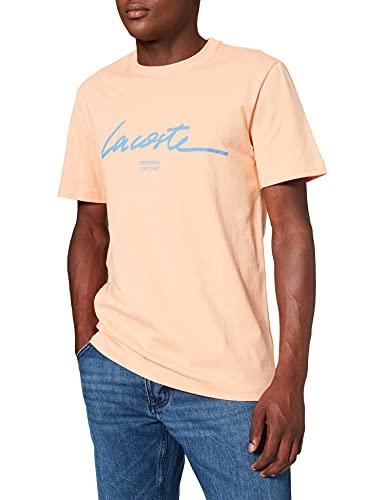 Lacoste TH0503 Camiseta, Recifal, S para Hombre