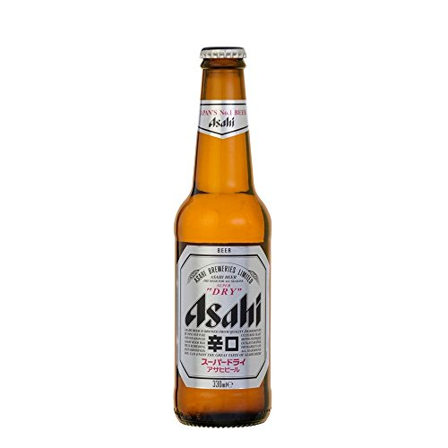 Asahi Super Dry Beer 4 x 330ml (Packung mit 6 x 4x33cl)