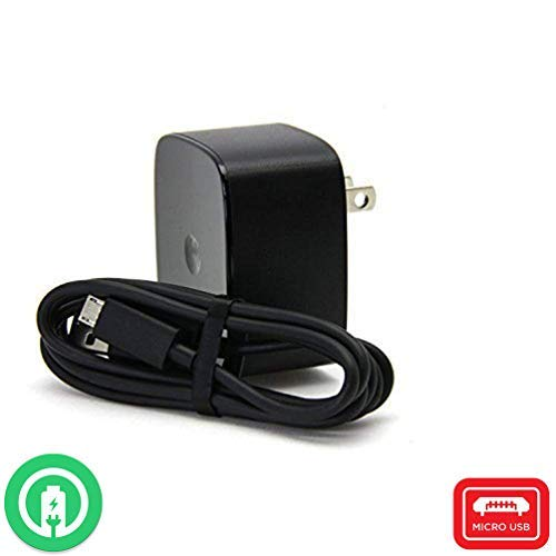 Turbo Fast Powered 15W Wall Charging Kit Works for Motorola Droid Turbo 2 with Quick Charge 2.0 USB 1M (3.3ft) USB Type-C Cable!