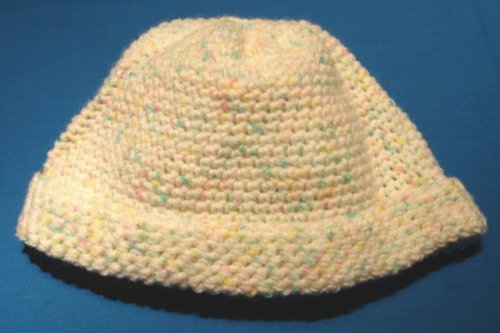 Ski Cap / Beanie Crochet Pattern in Baby Yarn for Toddlers 1 - 3 Years Old (English Edition)