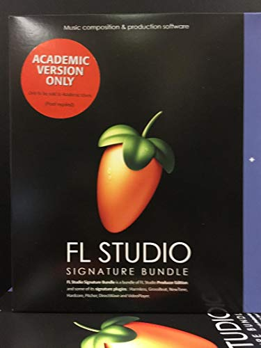 Fl Studio 20 Signature Edition Academic Student/Teacher Boxed
