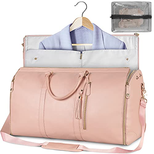 leather garment bags for travel - 4