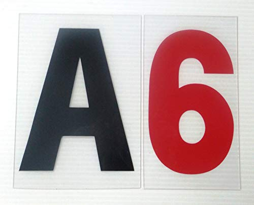 6' on 7 inch Outdoor Rigid Marquee Sign Letters - 300 Count