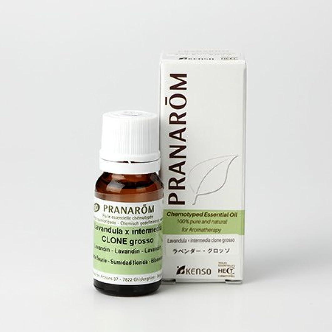 支援物理的に世界に死んだプラナロム ラベンダー グロッソ 10ml (PRANAROM ケモタイプ精油)