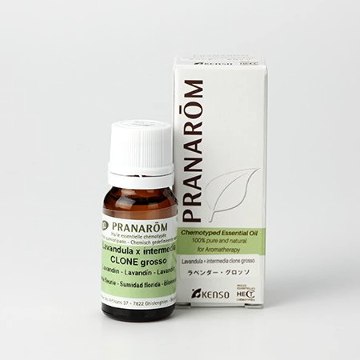 タイプ災害入射プラナロム ラベンダー グロッソ 10ml (PRANAROM ケモタイプ精油)