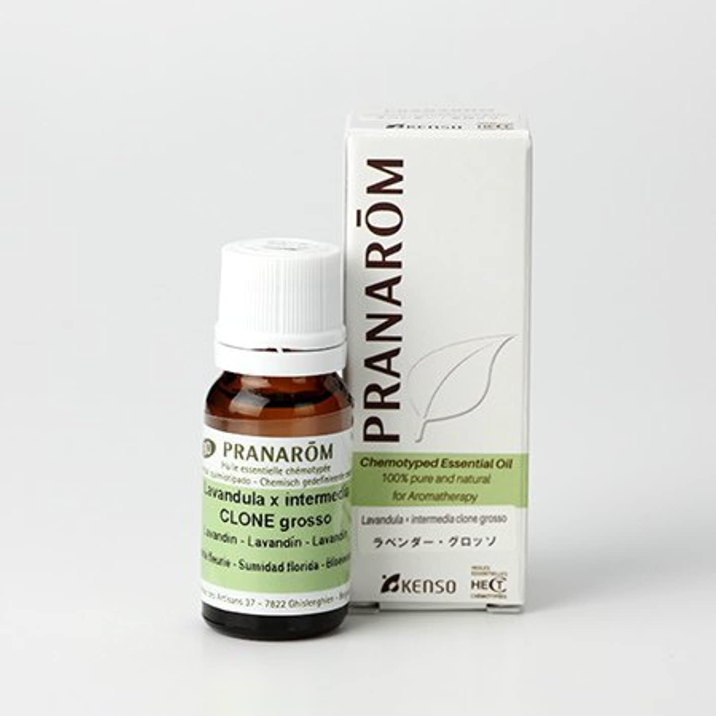 露予備クールプラナロム ラベンダー グロッソ 10ml (PRANAROM ケモタイプ精油)