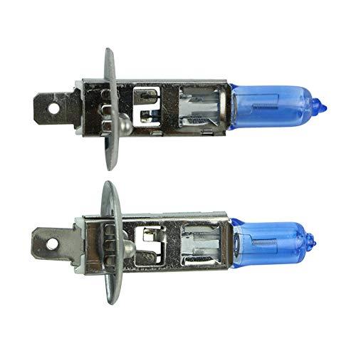 PMWLKJ 2 X H1 6000k Xenon Gas Halogen Scheinwerfer Weißlicht Lampen 55w 12v