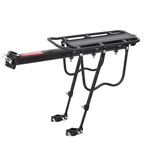 CT-CT Cycling Accessory Bike Rack 50Kg Capacity Bicycle Quick Release Luggage Cargo Seat Post Pannier Carrier Rear Rack Bicycle Accessories