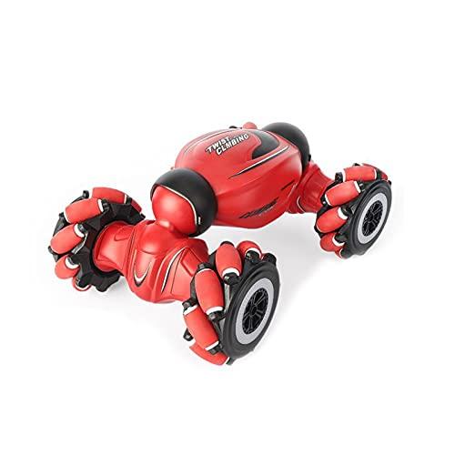 DEORBOB All Terrain Speed Crawler RC Stunt Car RC Cars 4WD Vehículo todo terreno giratorio de doble cara 360 ° Flip Sensor de gestos Juguete Baterías recargables Juguetes Regalos para niños niñas de
