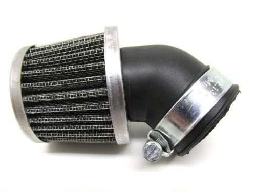 Sportluftfilter Tuning Luftfilter 28mm 45 Grad für Hercules Prima/Zündapp/Kreidler/Puch Maxi