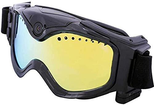 LZW Skibrille, 720P HD Ski-Sunglass Brille WiFi-Sport-Kamera Einschließen 32G SD-Karte, Buntes Doppelte Anti-Fog-Objektiv Für Ski Mit APP Live-Bild Videoüberwachung