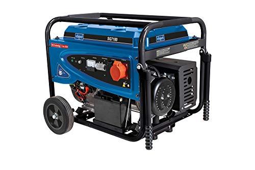 scheppach Benzin-Stromgenerator SG7100 - 15PS | 5500W | 230V | 400V AVR
