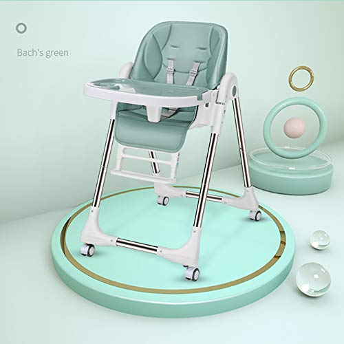 Chaise Haute pour Coussin de Jambe de bébé, Chaise de Salle à Manger à Deux étages pour Enfants, Chaise Haute bébé multifonctionnelle réglable et Pratique à Cinq Vitesses, adaptée aux bébé