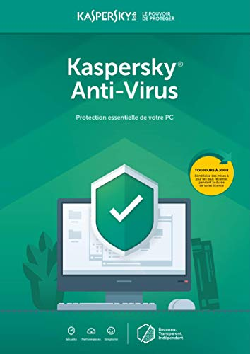 Kaspersky Anti-Virus | 3 PC - 1 An | PC | Abonnement