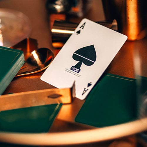 SOLOMAGIA NOC Out: Green and Gold Playing Cards