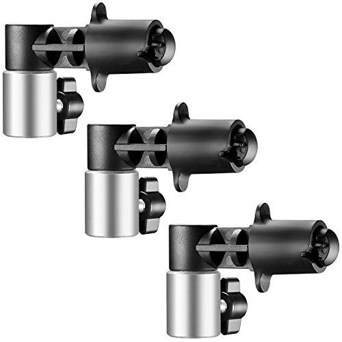 Neewer 3-Pack Pinzas de Fondo y Reflector Disco para Estudio Fotografía Reflector Luz Robusto Sujetando y Abrazadera de Colocación de Aleación de Aluminio Montaje en Soporte Luz