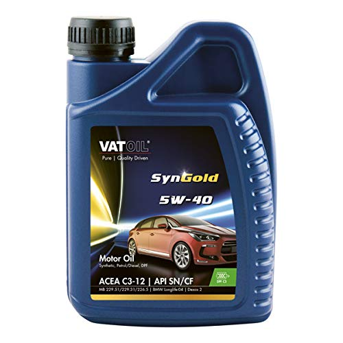 Kroon-Oil 1838190 Vatoil SynGold 5W-40 1Ltr