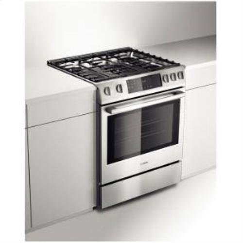 Bosch HGIP054UC Benchmark 30' Stainless Steel Gas Slide-In Range -...