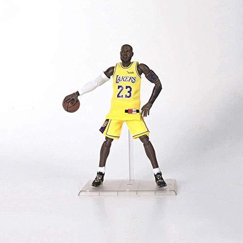 Figuras de acción Vinilo PVC decoración Figurita Juguetes coleccionables Serie NBA Lebron James Figurilla Recuerdos / Coleccionables / Artesanía 22cm Juguetes Estatua