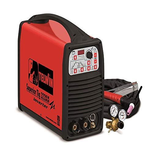 TELWIN TE-816101 - Soldador inverter superior tig 322 ac/dc hf/lift 400v+acc