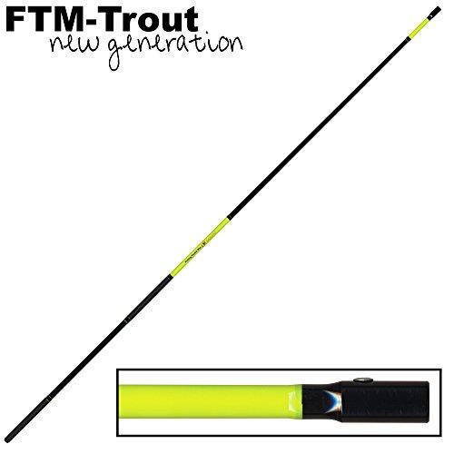 FTM Goliat Kescherstange 1,8m - Kescherstab für Unterfangkescher, Kescherstock für Forellenkescher, Keschergriff für Kescher