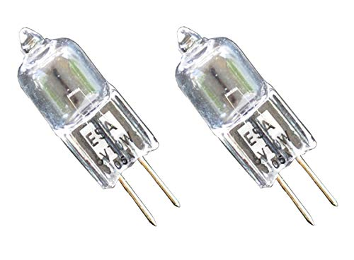 2pcs 6V 10W ESA FHD RSE41 Donar Bulb for - American Optical 624-ESA L150-ESA Microscope 40 650 0 78 355 385 583 600 602 603 605B 605 609 610 612 614 614A 615 616 618 621 623 624 626 735 6034 Halogen