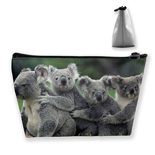 Skewed Koalas Trousse de maquillage avec fermeture éclair