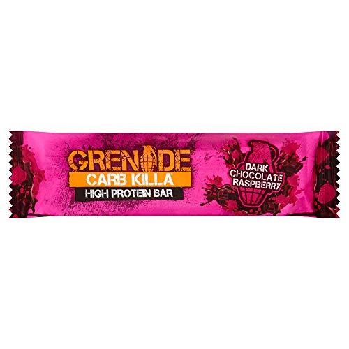 Grenade Carb Killa Dark Chocolate Raspberry High Protein Bar, 60g