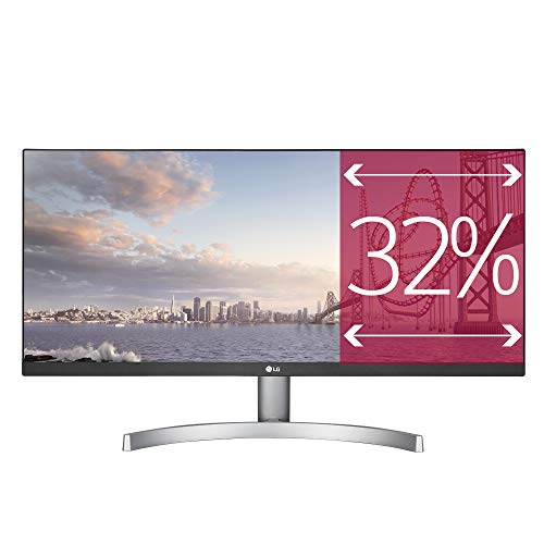 "LG 29WK600 Monitor, 29"", 21:9 UltraWide LED IPS HDR 10, 2560x1080, AMD FreeSync 75Hz, Audio Stereo 10W, 2xHDMI, 1 Display Port, Uscita Audio"