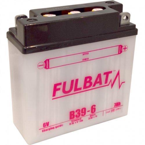 Fulbat - Motorrad Batterie B39-6/ 6N7-1 6V 7Ah