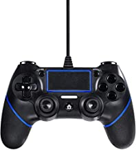 Etpark PS4 Wired Controller for Playstation 4, Professional USB PS4 Wired Gamepad (Black Wired)