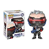 HAGENGOO ¡Popular! Overwatch: Soldier Doll Anime Statues Collection Juguete Coleccionable, Multicolo...