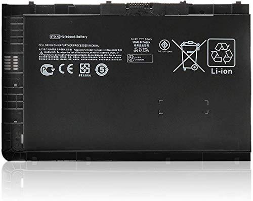 ANTIEE BT04XL 687945-001 Batería para HP Elitebook Folio 9470 9470M 9480M Notebook Series H4Q47AA HSTNN-IB3Z HSTNN-I10C BT04 BA06 BA06XL 687517-1C1 687517-171 [14.8V 52WH]