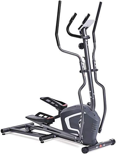 no bland Ellipsentrainer, Crosstrainer, tragbar, Ellipsentrainer, Cardio-Trainingsgerät für Zuhause, Büro, Fitnessstudio, Ellipsentrainingsmaschine, magnetisches Cardio-Workout