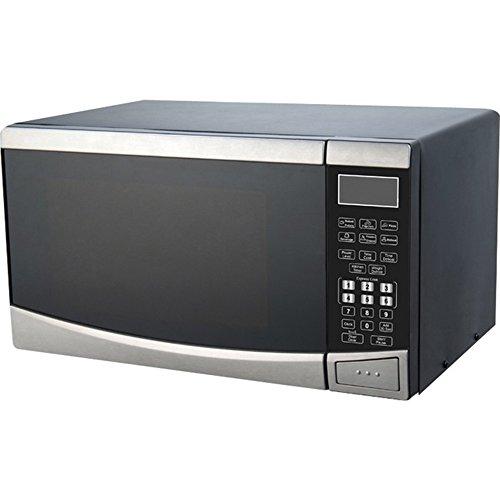 Avanti MT09V3S Countertop Microwave, 0.9 cubic feet, Stainless Steel