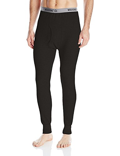 Wolverine Men's Classic Weight Thermal Pant, Black Soot, X-Large