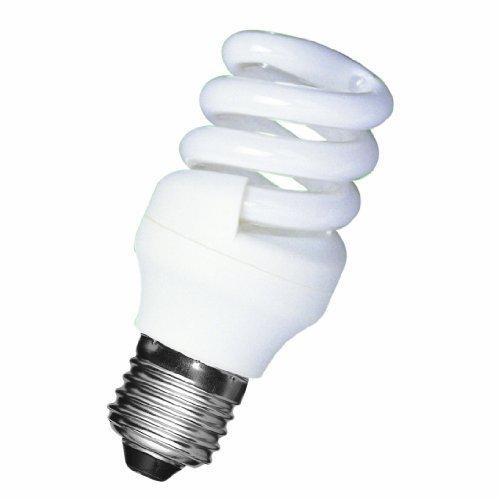 Ahorro de energía lámpara de inicio rápido themawrap 9W=40w 2700 K/luz blanca cálida de ES/E27/rosca Edison 480 Lumens de la lámpara fluorescente compacta de bajo consumo promoción Precio £2,99