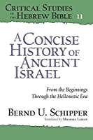 A Concise History of Ancient Israel: From the Beginnings Through the Hellenistic Era (Critical Studies in the Hebrew Bible)