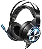 VOKYO Gaming Headset Xbox One Headset PS4 Headset with 7.1 Surround Sound, Noise Cancelling Gaming...