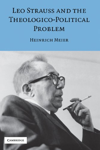 Leo Strauss and the Theologico-Political Problem (Modern European Philosophy) (English Edition)