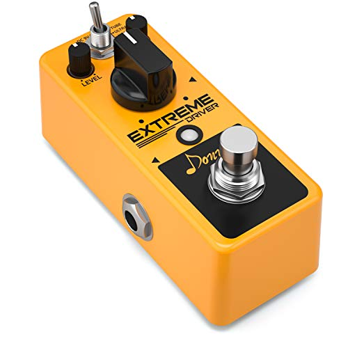 Donner Distortion Pedal Extreme Driver Analog Effect Pedal