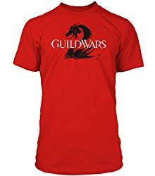 Red Guild Wars 2 T-Shirt on Amazon