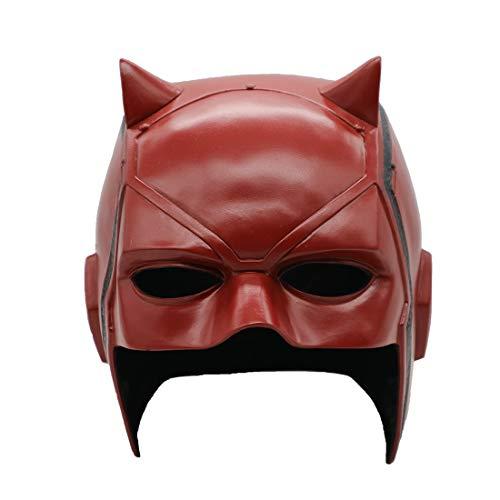 Daredevil Matt Murdock Maske Film PVC Helm Halbgesicht Cosplay Kostüm Halloween Party Requisiten