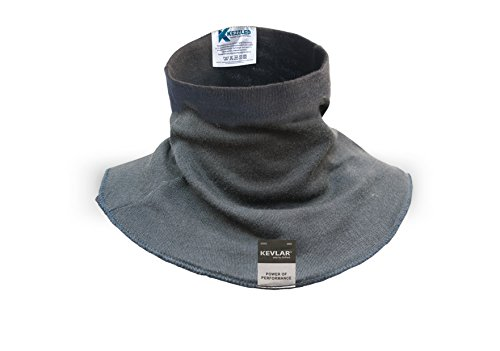 KEZZLED Welding Neck Protector- Cut, Scratch, Heat & Flame Resistant Neck Protection, Neck Gaiter- Made of 100% Kevlar by DuPont with added UV Rays, Sun, Cooling Protection (Medium, Black)