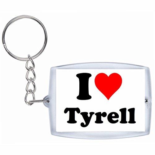 EXCLUSIVO: Llavero 'I Love Tyrell' en Blanco, una gran idea...