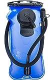 WWXXCC 3L Libre de BPA EVA Hidratación Paquete vejiga a Prueba de Fugas depósito de Agua, vejiga de la hidración para IR de excursión Acampar Correr Ciclismo,Azul